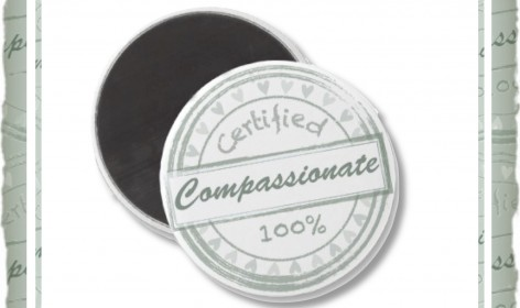 Certified Compassionate Magnet