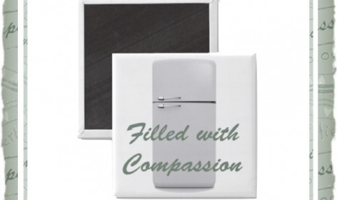 Filled with Compassion Magnet